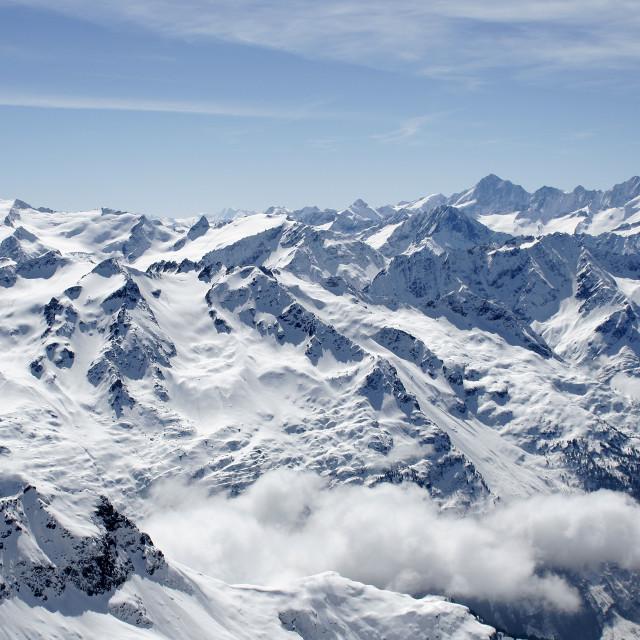 """The Swiss Alps, Switzerland"" stock image"