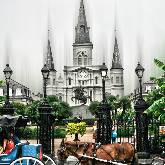 """""""St. Louis Cathedral"""" stock image"""