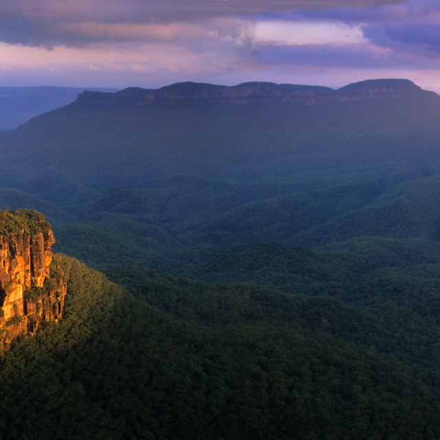 """""""The Three Sisters"""" stock image"""