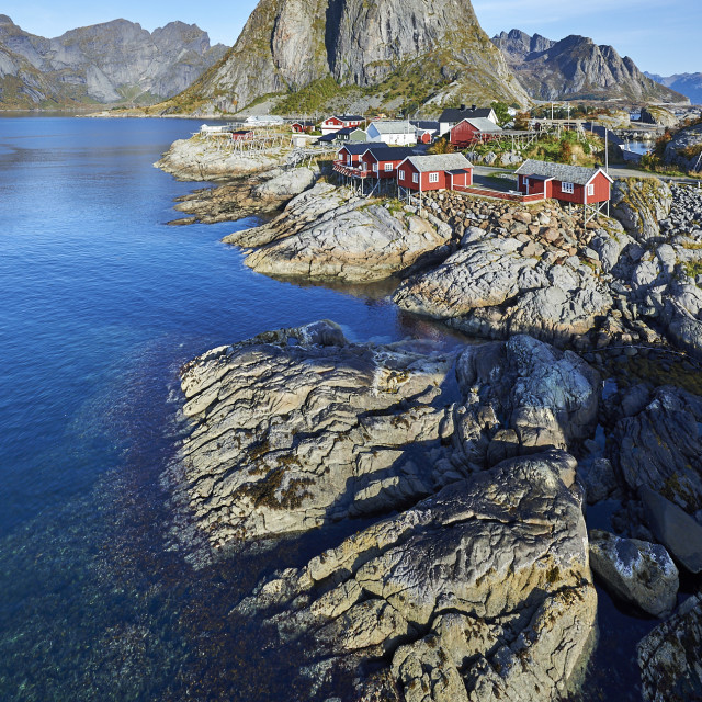 """Hamnøy in Lofoten"" stock image"