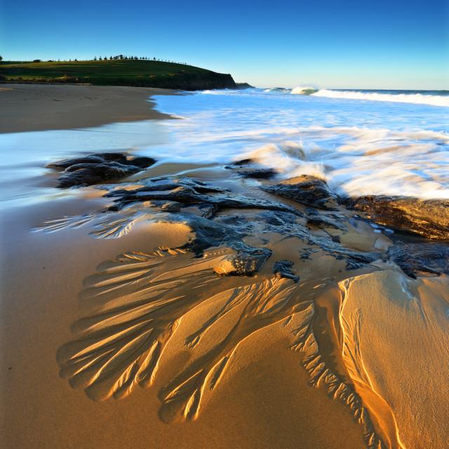 """Walkers Beach"" stock image"