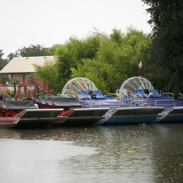 """""""Airboats"""" stock image"""