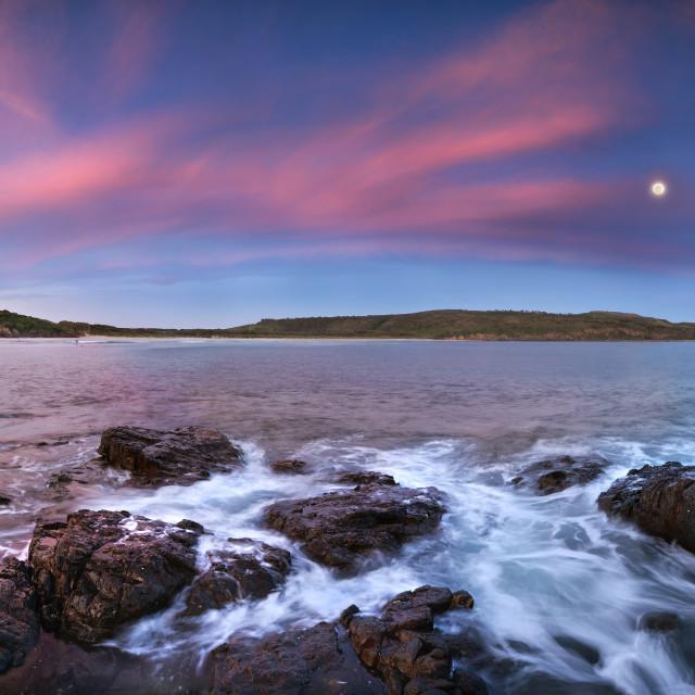 """""""Killalea sunset"""" stock image"""