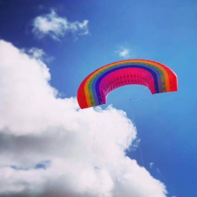 """Rainbow Sky"" stock image"