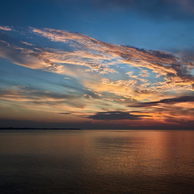 """""""Summer Sunrise"""" stock image"""