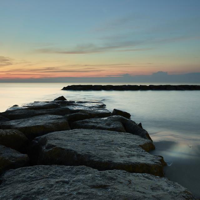 """""""Calm Sea"""" stock image"""