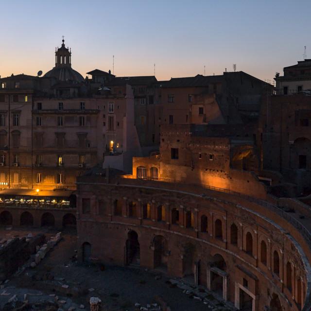 """""""Trajan's Market"""" stock image"""