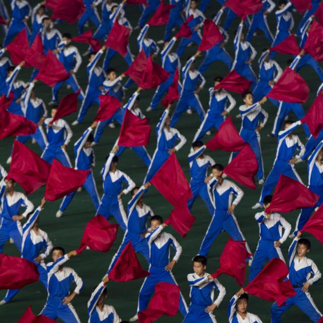 """Arirang Mass Games"" stock image"