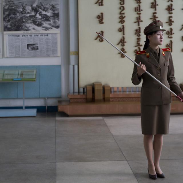 """Life in Pyongyang, North Korea"" stock image"