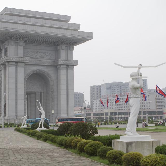 """Arch of Triumph"" stock image"