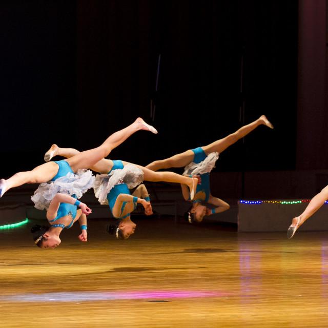 """School Children's Performance"" stock image"