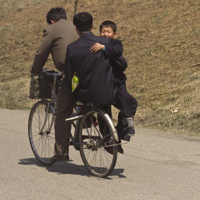 """Rural North Korea"" stock image"