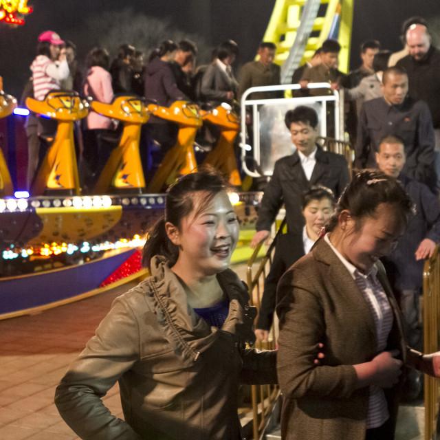 """Kaeson Fun Fair"" stock image"