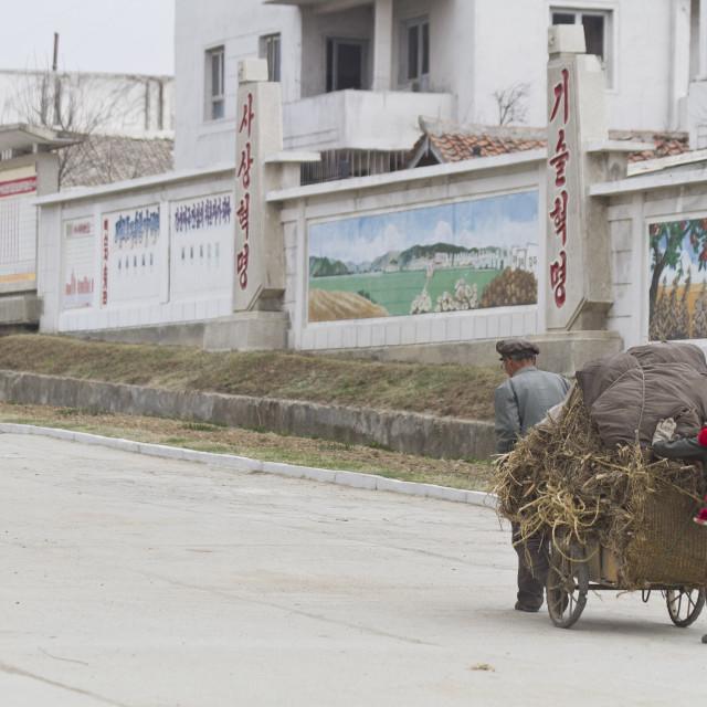"""Hamhung Farm life"" stock image"