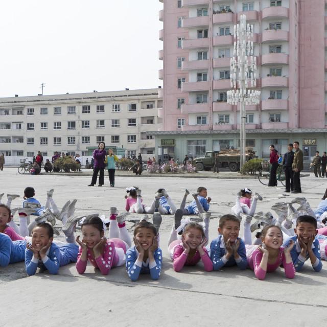 """North Korea"" stock image"