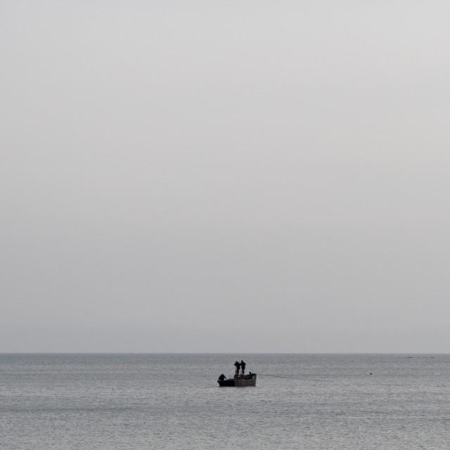 """""""Hungnam fishing"""" stock image"""
