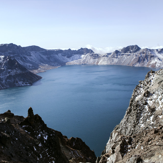 """Mount Changbai Paektu"" stock image"