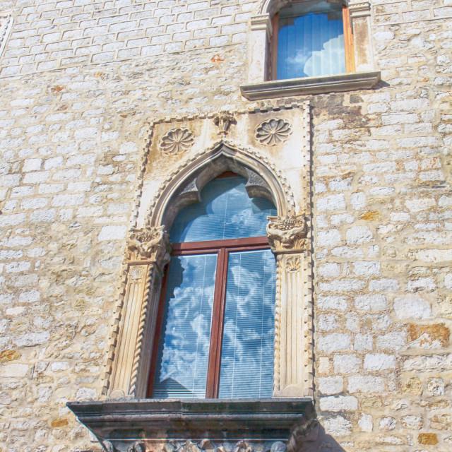 """Zadar Croatia - Antique Venetian house"" stock image"