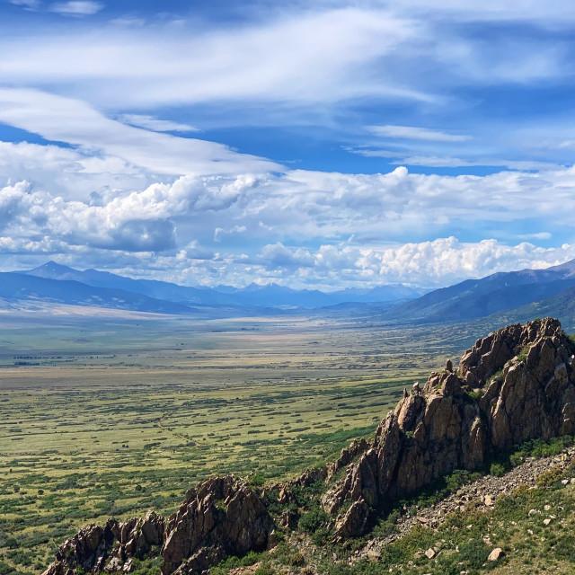 """San Luis Valley 1"" stock image"