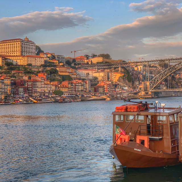 """""""Porto Sunset"""" stock image"""
