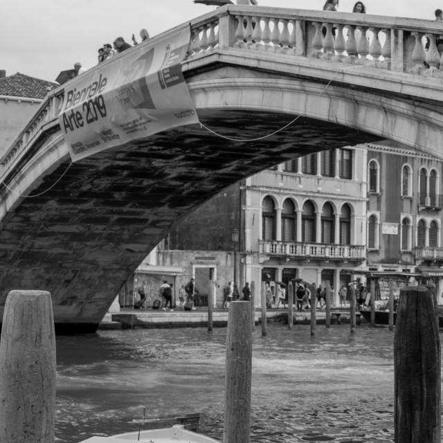 """""""Rialto Bridge, Venice"""" stock image"""