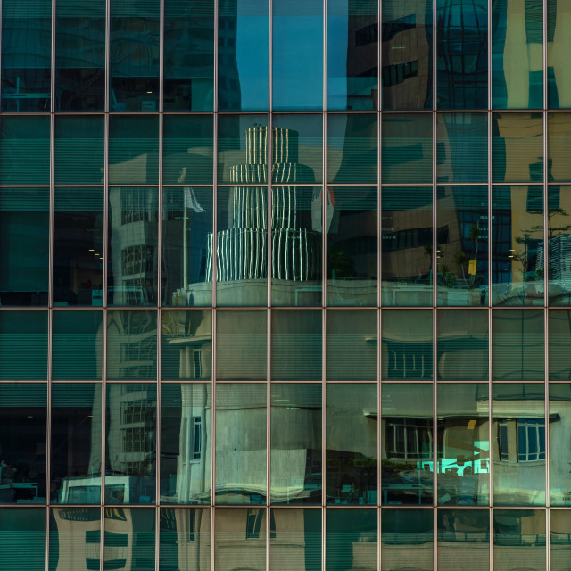 """Skyscraper in the financial district"" stock image"