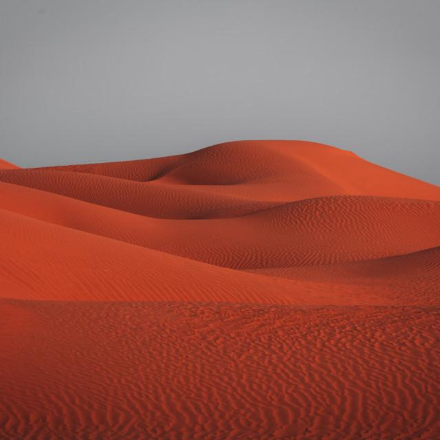 """Dunes of Sand"" stock image"
