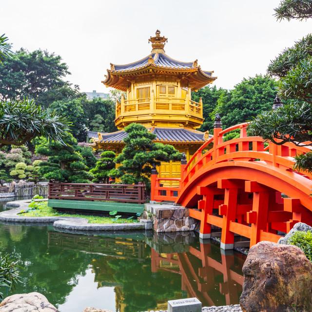 """Nan Lian Garden, Diamond hill, Hong kong"" stock image"