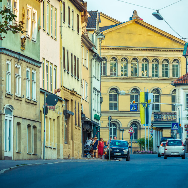 """Streets of Coburg"" stock image"