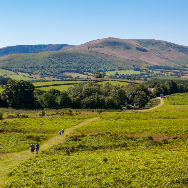 """Brecon Beacons, Wales"" stock image"