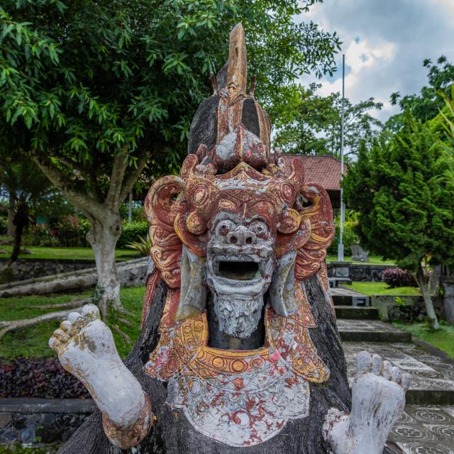 """Tirta Gangga palace in Bali"" stock image"