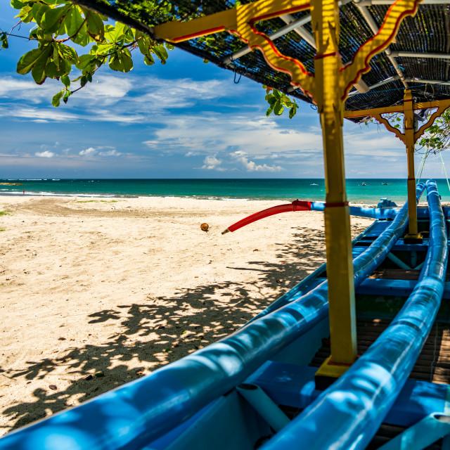 """""""Kuta beach in Bali"""" stock image"""