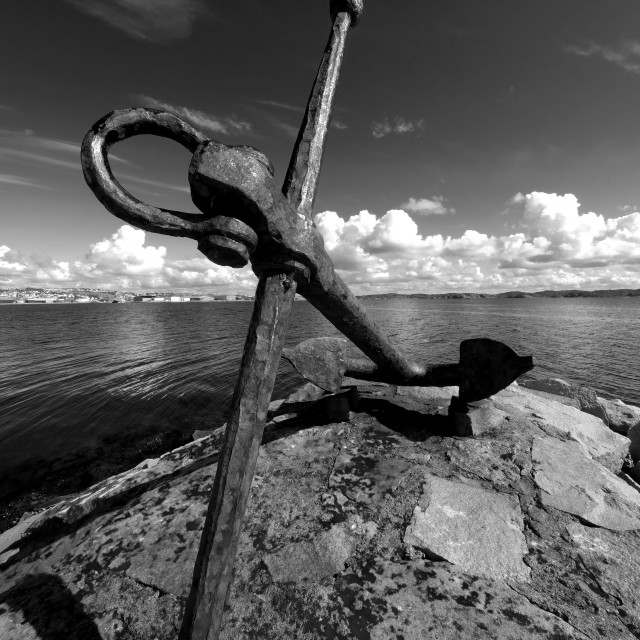 """""""Old Anchor"""" stock image"""