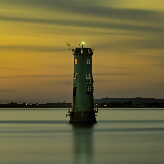 """""""The Great South Wall Lighthouse"""" stock image"""
