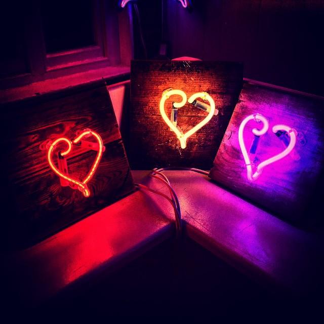 """3 Hearts"" stock image"