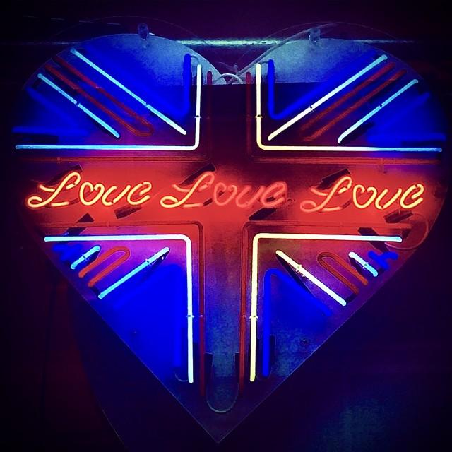 """""""Love Love Love"""" stock image"""