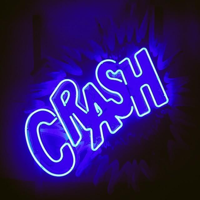 """Crash!"" stock image"