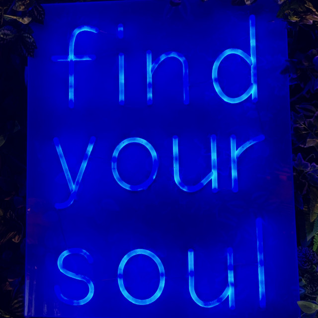 """""""Find Your Soul"""" stock image"""