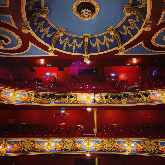 """""""Crewe Lyceum Colours"""" stock image"""