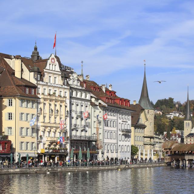 """""""Lucerne, Switzerland"""" stock image"""