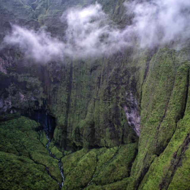 """Kauai Garden Isle"" stock image"