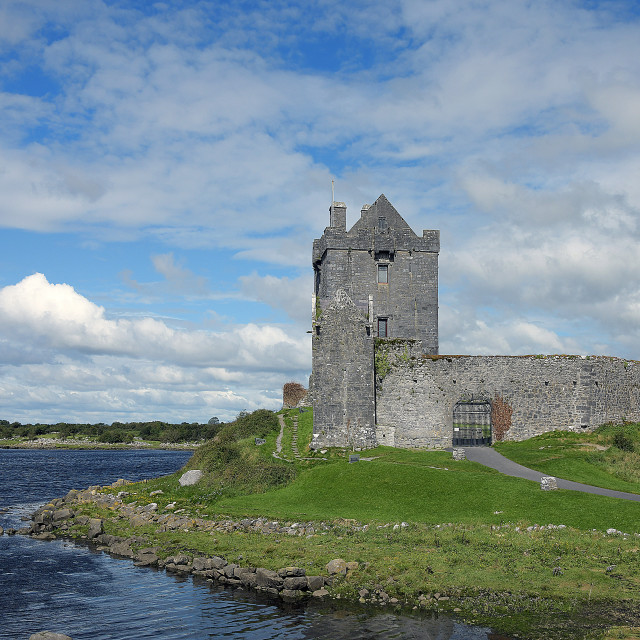 """""""Dunguaire Castle, County Galway"""" stock image"""