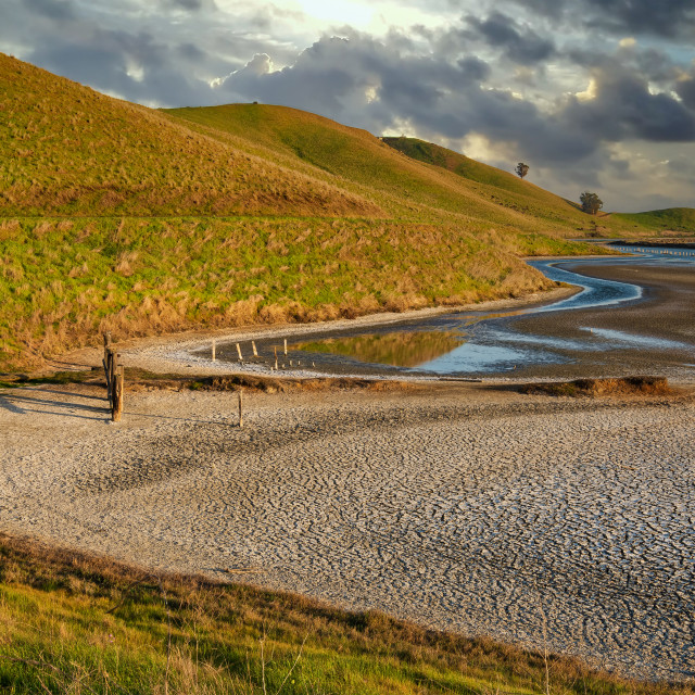 """""""Baylands View"""" stock image"""