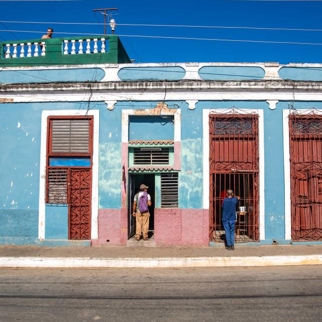 """""""Shop in Trinidad"""" stock image"""