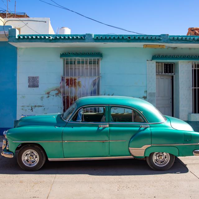 """""""Car in Trinidad"""" stock image"""
