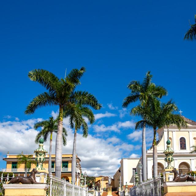 """""""Plaza Mayor V"""" stock image"""