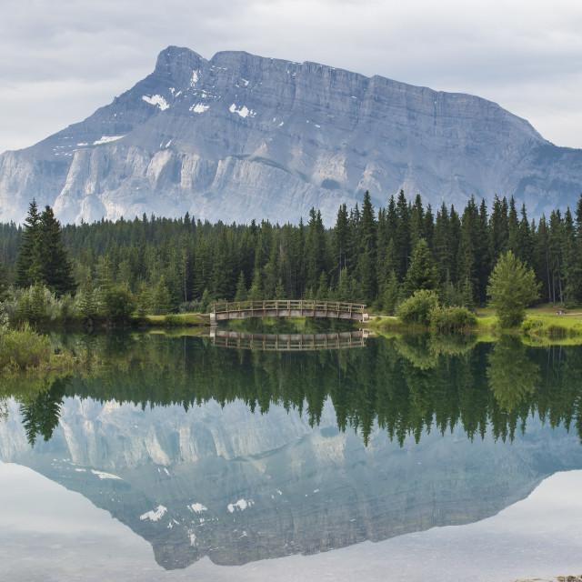 """Cascades Pond"" stock image"