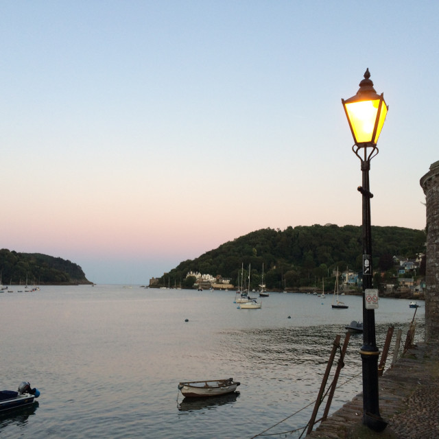 """Dartmouth Sunset"" stock image"