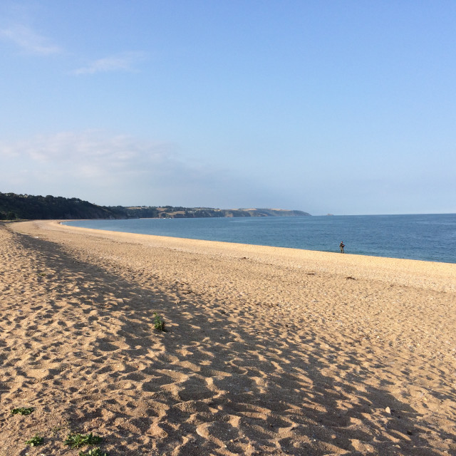 """Slapton Sands"" stock image"