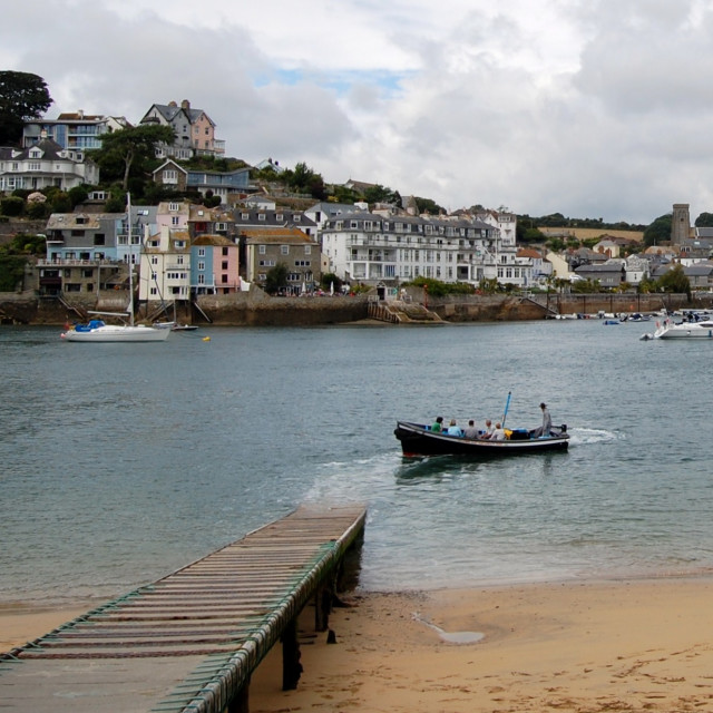 """Salcombe to East Portlemouth Ferry"" stock image"
